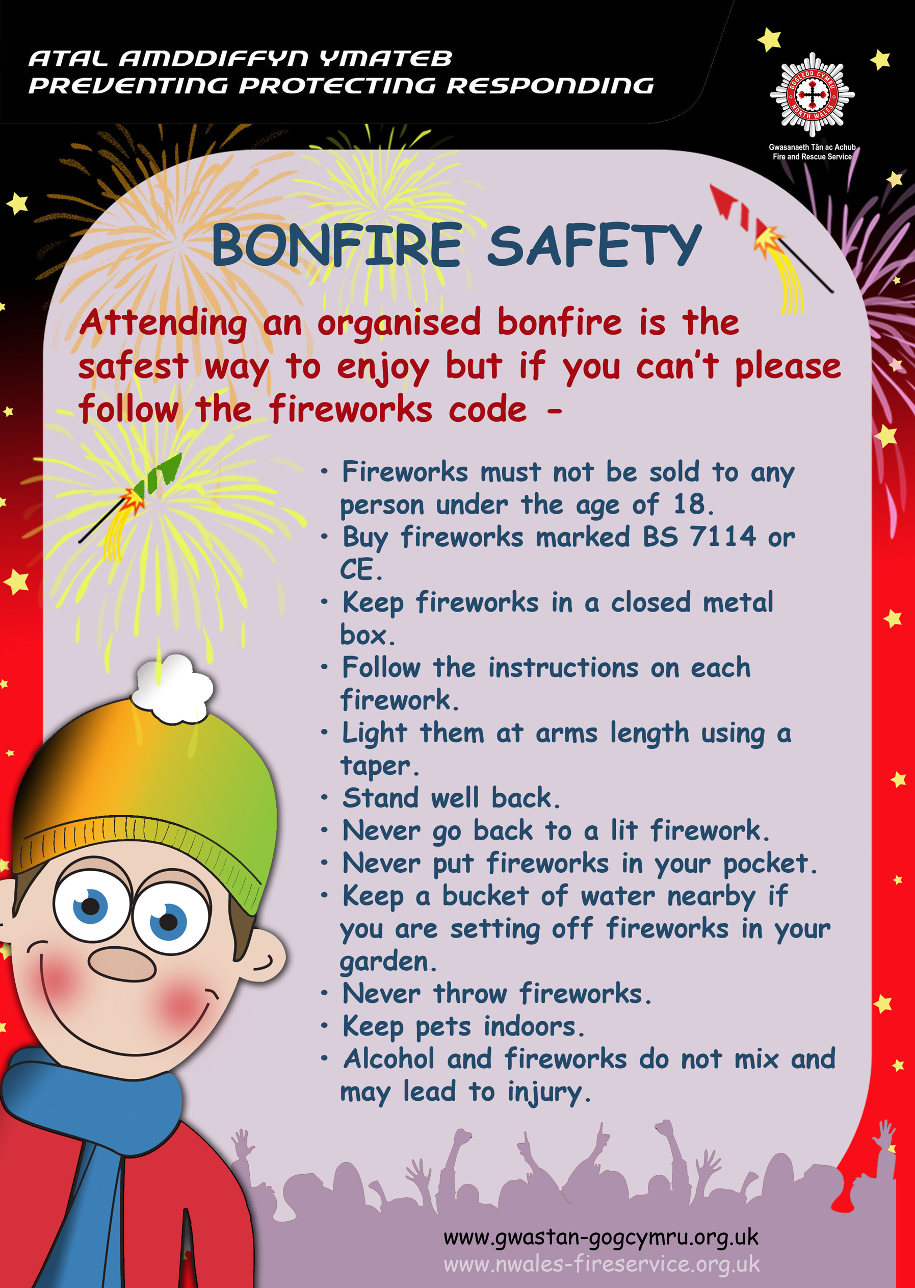 Firework Amp Bonfire Safety In Your Community Keeping
